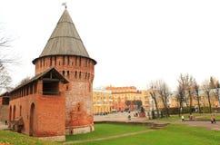 Het Kremlin in Smolensk royalty-vrije stock afbeelding