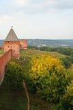 Het Kremlin Smolensk stock afbeeldingen