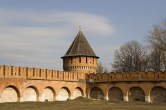 Het Kremlin in Tula Stock Afbeelding