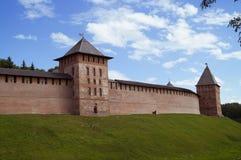 Het Kremlin van de stad van Veliky Novgorod, Rusland Royalty-vrije Stock Foto