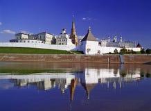 Het Kremlin van Kazan stock fotografie