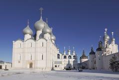 Het Kremlin van Rostov Groot royalty-vrije stock foto's