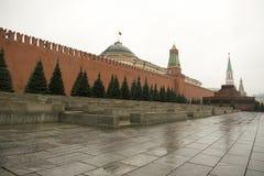 Het Kremlin is versterkte complex in het centrum van Moskou Stock Afbeelding