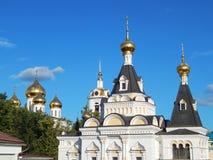 Het Kremlin (XII eeuw) in de stad van Dmitrov, Rusland Royalty-vrije Stock Foto's