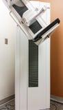 Het krijgen van een mammogram Royalty-vrije Stock Foto's
