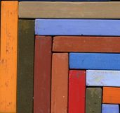Het Krijt van de pastelkleur Stock Foto