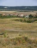 Het Krimlandschap van de de Zomersteppe Stock Fotografie