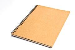 Het kringloopdocument van het notitieboekje Stock Foto