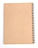 Het kringloopdocument van het notitieboekje Royalty-vrije Stock Foto