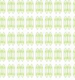 Het kristal schetste aantrekkelijk naadloos patroon in pastelkleuroptie vector illustratie
