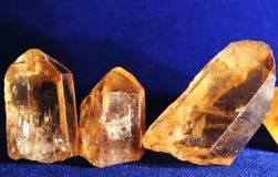 Het kristal van de berg Stock Foto's