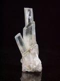Het kristal van de rots Royalty-vrije Stock Afbeeldingen