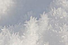 Het Kristal van de sneeuw Stock Afbeelding