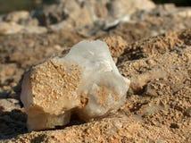 Het kristal van het kalkspaat Royalty-vrije Stock Afbeelding
