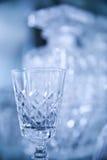 Het kristalglas van de luxe Stock Foto