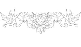 het kristalhart met rozen en slikt vector illustratie