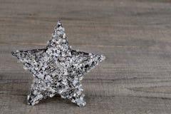 Het kristalster van Kerstmis Stock Foto's