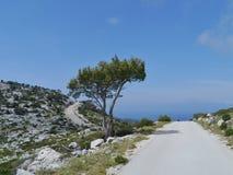 Het Kroatische eiland Lastovo in het Middellandse-Zeegebied Stock Foto's