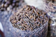 Het Kruid Souk van Doubai royalty-vrije stock afbeelding
