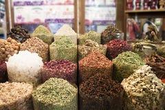 Het Kruid Souk van Doubai stock afbeeldingen