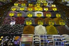 Het Kruidmarkt van Istanboel Royalty-vrije Stock Afbeelding