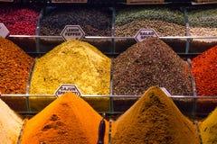 Het Kruidmarkt van Istanboel Stock Afbeelding