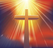 Het kruis Stock Foto's