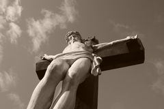 Het kruis Stock Afbeeldingen
