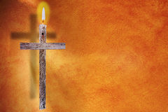 Het kruis - Pasen royalty-vrije stock afbeelding