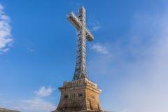 Het kruis van Caraiman Royalty-vrije Stock Fotografie