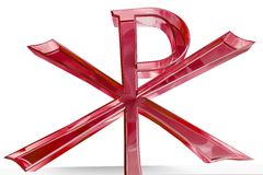Het kruis van Christi van Pax Stock Foto