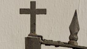 Het kruis van Christians van de ijzeromheining van Spanje Stock Afbeeldingen