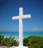 Het Kruis van Columbus door Oceaan Stock Afbeelding
