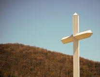 Het Kruis van de berg Royalty-vrije Stock Fotografie