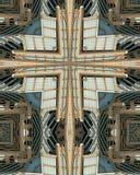 Het kruis van de caleidoscoop: Hearst Tower2 royalty-vrije stock foto