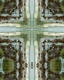 Het kruis van de eb Stock Foto