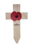 Het Kruis van de papaver Royalty-vrije Stock Fotografie