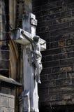 Het kruis van de steen Stock Foto's