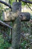 Het kruis van de steen Stock Fotografie