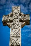 Het kruis van de steen Stock Afbeelding
