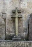 Het kruis van de steen Royalty-vrije Stock Afbeeldingen