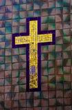 Het Kruis van de tegel Stock Foto's