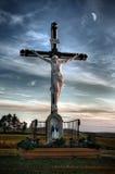 Het Kruis van de weg Royalty-vrije Stock Afbeeldingen