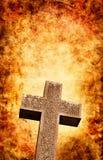 Het Kruis van Firey Stock Fotografie