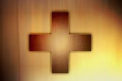 Het kruis van Grunge royalty-vrije illustratie