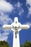 Het Kruis van Gustavia, St. Barths, de Franse Antillen Stock Fotografie