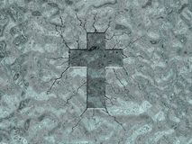 Het kruis van het ijs Royalty-vrije Stock Fotografie