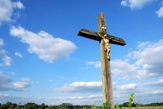 Het kruis van het land Royalty-vrije Stock Foto's