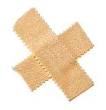 Het kruis van het pleister Stock Fotografie