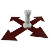 Het kruis van het schaak Stock Afbeeldingen